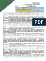 Exercício Direito Empresarial I