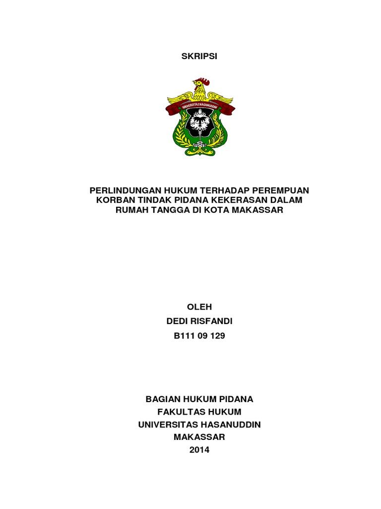 Skripsi Pidana Pdf