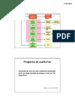Programar Auditorias