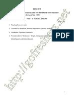 AP EdCET Syllabus and Exam Pattern
