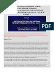 Essay 2 - Creation & Manifestation-factors Affecting the Internal Psychophysiology of m.p.o. - l.e.r.m