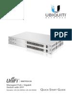 UniFi Switch US-24 QSG