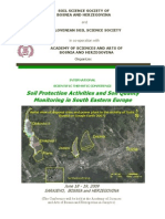 Soil Protection Activities and Soil Quality Monitoring in SEE