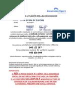 Protocolo de Actuación Ultra Trail Gredos
