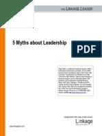 Greg Smith 5 Myths About Leadership 0805