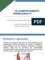 Biomecanica Ligamentos y Tendones