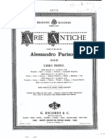 PARISOTTI Arie Antiche