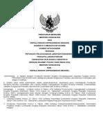 Peraturan Bersama Menkes & Ka Bkn Ttg Jabatan Fungsional Tenaga Laboratorium