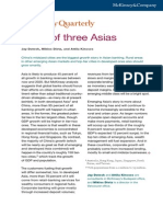 A Tale of Three Asias