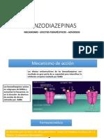 Bezodiazepinas y Barbitúricos.
