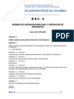 Normas de Aeronavegabilidad y Operación Aeronaves