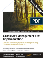 Oracle API Management 12c Implementation - Sample Chapter