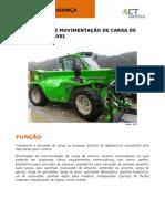 Ficha de Segurança - Carros Automotores