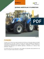 Ficha de Segurança - Tratores e Máquinas Agrícolas