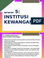 Institusi kewangan