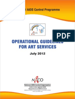 Operational Guidelines Operational guidelines for ARTfor ART Services