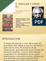 sociedad y cultura peruana
