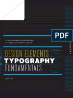 Design Elements Typogrphy Fundamentals