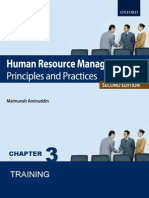 Human Resource Management (HRM) Chap. 3 Training