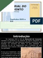 Cap. XVIII e XIX- Historias Dos Trabalhadores e Epopeia Da Pedra