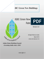 IGBC Green New Buildings Rating System V_3.0 March 2015
