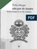 Felix Duque - EL Mundo Por Dentro