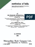 Indian Original Constitution Interpretation