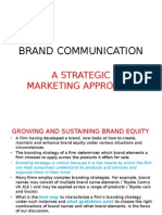 Brand Communication Intro