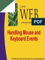 Java-Events Handlling