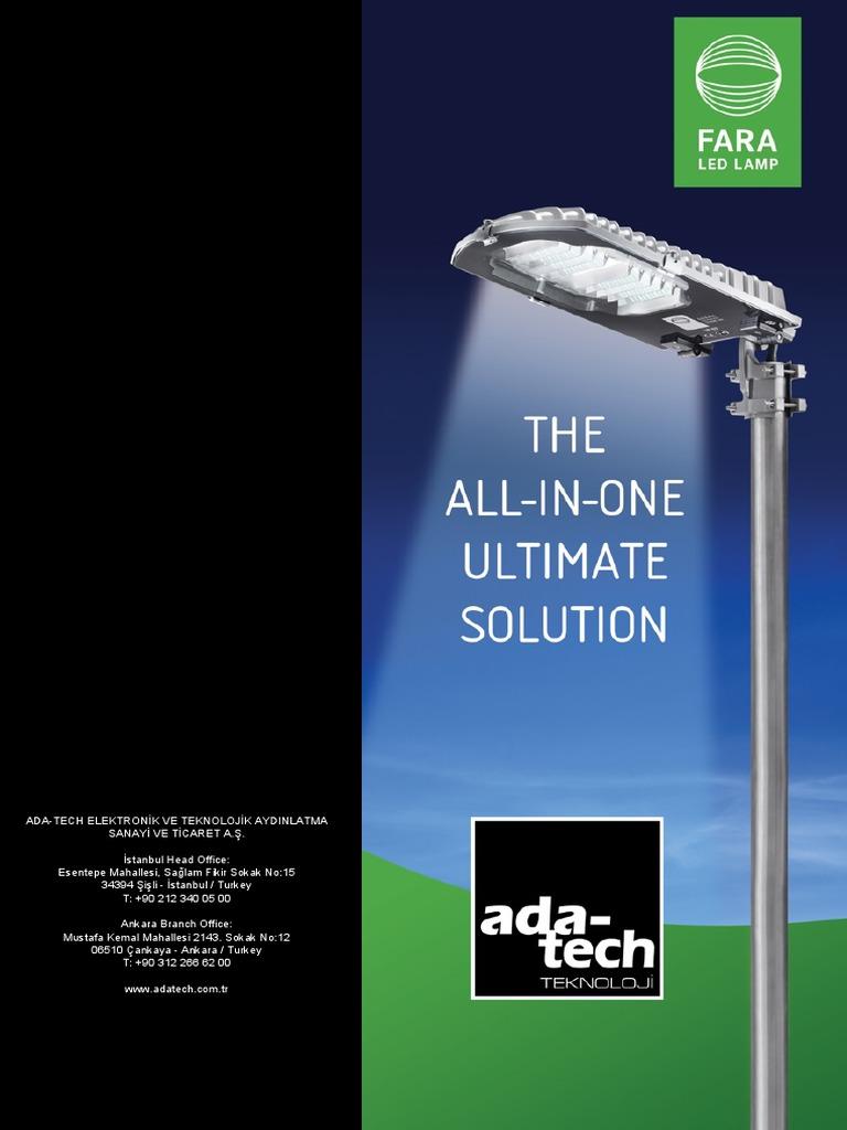 Fara Vela Technical Specifications.pdf | Power Supply | Lighting