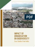 Impact of Urbanisation on Biodiversity Indian case studies