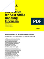 Towards a Better City Design for Asia Afrika (Vol.1)