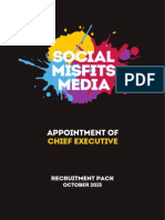 Social Misfits Media - CEO Recruitment Pack (Oct. 2015)