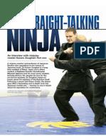 Blitz Martial Arts Magazine 2015-09 Interview Kacem
