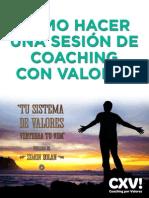 Cómo Hacer Una Sesión de Coaching Con Valores