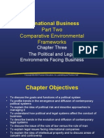 International Business Part Two Comparative Environmental Frameworks