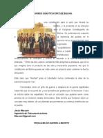 Congreso Constituyente de Bolivia
