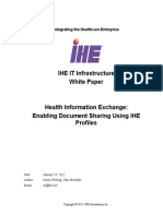 IHE ITI White Paper Enabling Doc Sharing Through IHE Profiles Rev1!0!2012!01!24