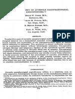Surgical Treatment of Juvenile Nasopharyngeal Angiofib