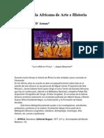 Bibliografía Africana de Arte e Historia