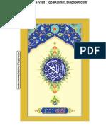 Quran Arabi TAj (Iqbalkalmati.blogspot.com)