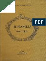 Ilhamija Život i Djelo Muhamed Hadžijamaković 1991