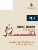 Doing Human Conference Program