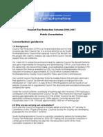 council tax reduction scheme consultation 2016
