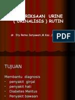 KULIAH URINALISIS RUTIN