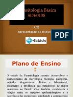Unidade I - Introdução à Parasitologia - Cópia.ppt