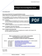 2015 08 26 Adverse Event Report and Investigation Form