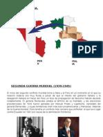 RELACION ENTRE PERU E ITALIA _ 2°GUERRA MUNDIAL
