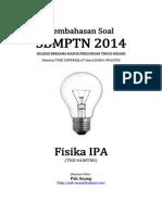 Pembahasan Soal SBMPTN 2014 Fisika IPA Kode 512 (Full Version)