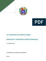Ley Orgánica de Amparo Sobre Derechos y Garantías Constitucionales